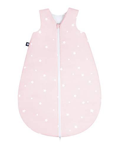 Julius Zöllner 9160710132 - Saco de dormir para bebé (todo el año, 100% algodón, talla 70, 6-12...