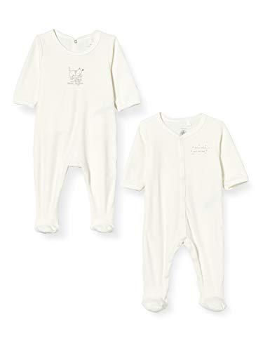 Petit Bateau 5755100 Conjunto de Pijamas, Multicolorlor, 1 Mes para Bebés