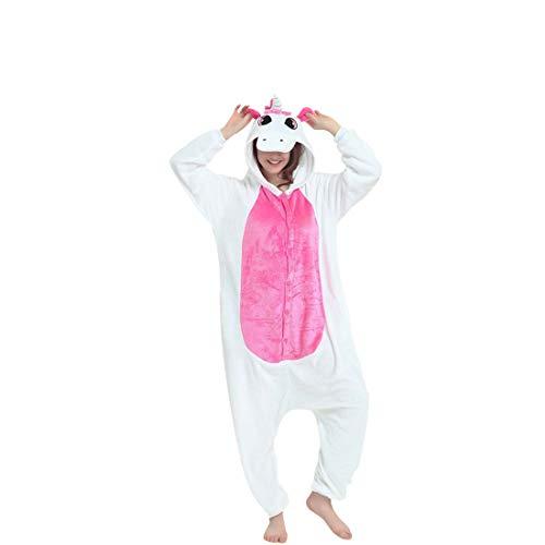 DEBAIJIA Pijama Animal Unicornio para Niños Niñas Disfrace Cosplay Franela Traje del Anime...