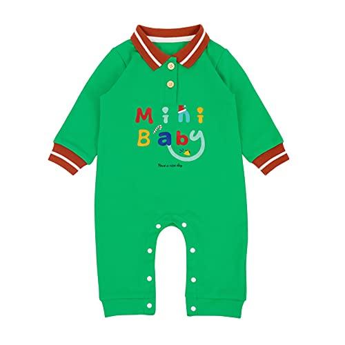 Bebé Navidad Ropa para Niños Niñas 6-9 meses, Mamelucos Algodón Pijamas Manga Larga Disfraz...