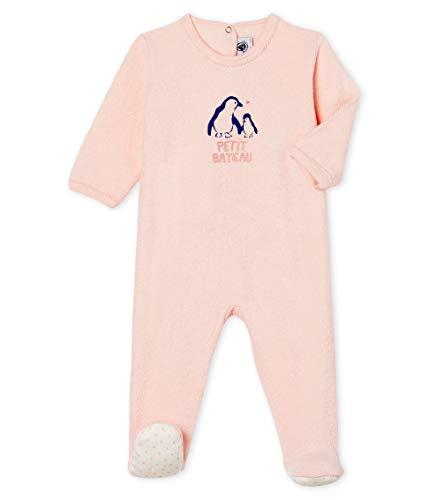 Petit Bateau Dors Bien Pont Dos_5000401 Pijama, Rosa (Minois 01), 92 (Talla del Fabricante:...