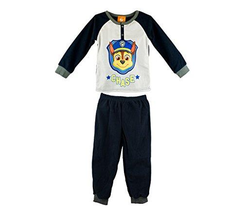 22-2308 Pijama de manga larga para niño Paw Patrol de 2 a 6 años en terciopelo - 3/4 años
