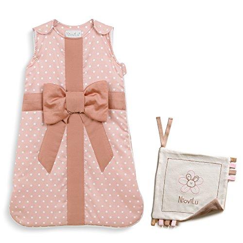 NioviLu Design Saco de dormir para bebé - Mon Bébé Cadeau (0-6 meses / 70 cm - 2.5 Tog)