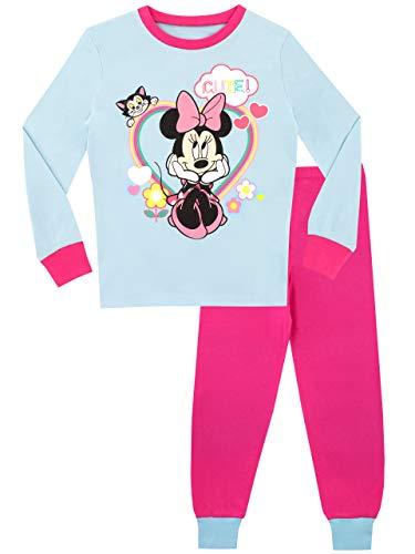 Disney Pijamas para niñas de Disney Minnie Mouse Ajuste Ceñido 4-5 años multicolor