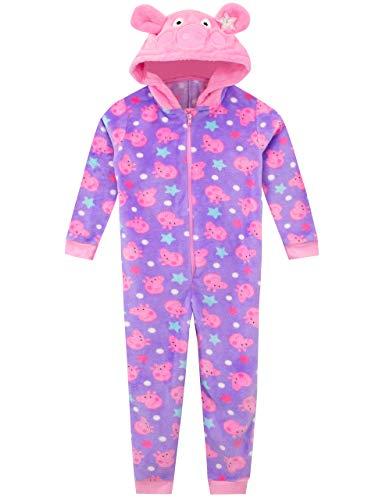Peppa Pig Pijama Entera para niñas Rosa 4-5 Años