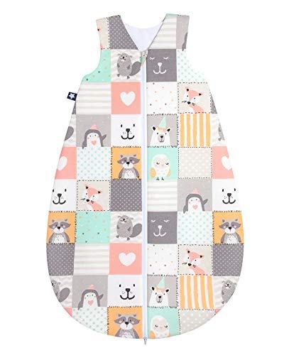 Julius Zöllner Saco de Dormir para bebé para Todo el año, 100% algodón, Talla 90, 12-24 Meses,...