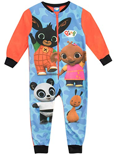 Bing Pijama Entera para niños Flop y Pando Multicolor 2-3 Años