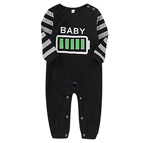 DaMohony - Conjunto de Pijamas para Familia Ropa Interior Familiar Bebés Niños Papá Mamá