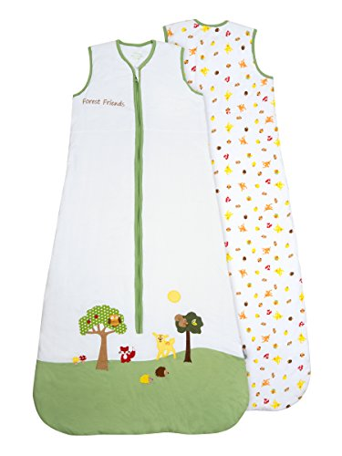 Slumbersac - Saco de dormir para bebé (0,5 tog), diseño de animales Forest Friends – Diferentes...