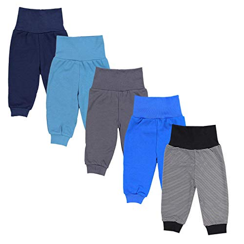 TupTam Pantalones de Chándal para Bebés Paquete de 5, Niño 2, 74