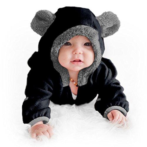 Cuddle Club Mono Polar Bebé para Recién Nacidos a Niños 4 Años - Pijamas Infantiles Chaqueta de...