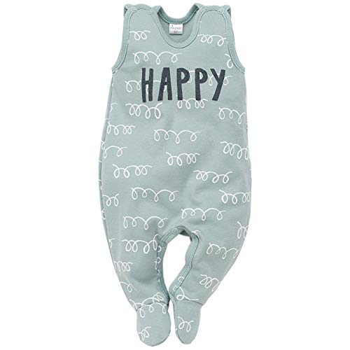 Pinokio - Happy Llama - Onesie (Pijamas/una Sola Pieza) Algodón - Mangas - Turquesa o...