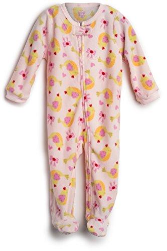 elowel | Pijama Ninas | Ropa De Dormir De Lana Caliente| 1 Pieza | Pijama De Pie | Cálido Y Tierno...