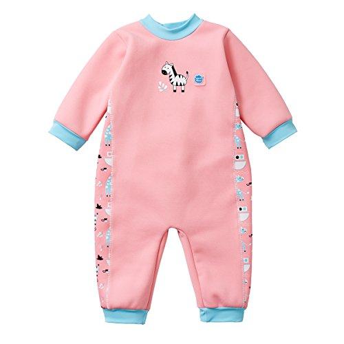 Splash About Traje de Neopreno para niños, Rosa (Arca de Nina), 12-24 Meses (Talla de fabricación:...