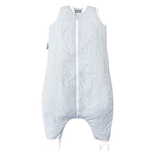 molis&co. Saco de Dormir con pies 100% algodón orgánico. Acolchado. Talla 1 año. Ideal para...