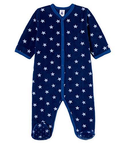 Petit Bateau Combichaud_5001901 Pijama, Multicolor (Medieval/Marshmallow 01), 95 (Talla del...