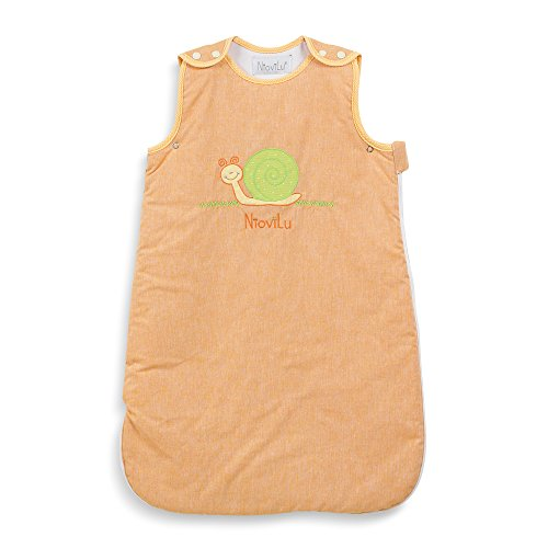 NioviLu Saco de dormir para bebé - Escargot rigolo (18-36 meses / 105 cm - 2.5 Tog)