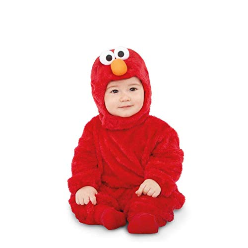 My Other Me Barrio Sésamo Disfraz de Elmo Rojo para bebé