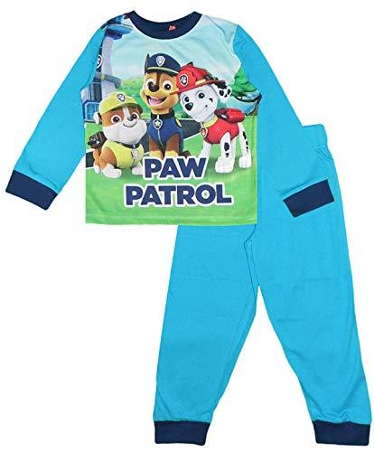 Nickelodeon Paw Patrol Pijama Largo para Niños (5 Años, Azul Royal)