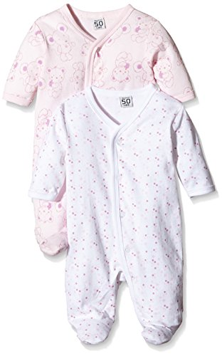 Care Pijama para Bebé Niña, Pack de 2 Rosa (Old Rose 556) 3 años