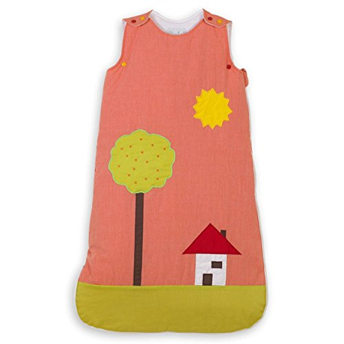 NioviLu Design Saco de dormir para bebé - Pintura Alegre (6-18 meses / 90 cm - 1 Tog)
