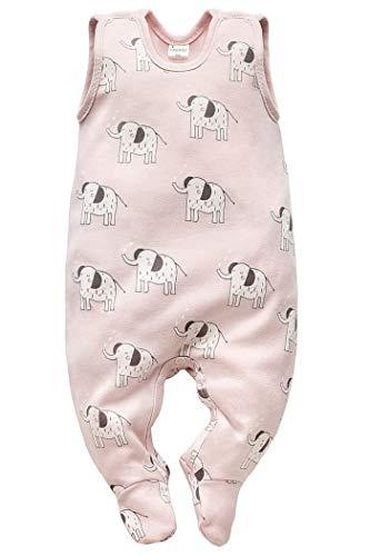 Pijama para bebé con pie de elefante para niña, sin mangas, de algodón, mono de juego, pijama de...