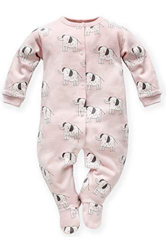 Pijama para bebé con pies, elefantes, manga larga, una sola pieza, con pies, elefantes, animales de...