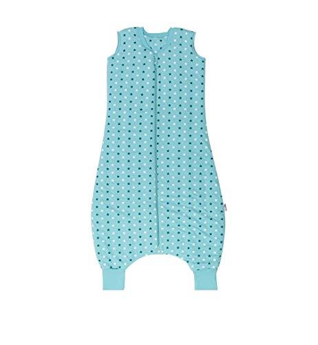 Slumbersac - Saco de dormir con diseño de estrellas para bebé, color verde azulado (para invierno,...