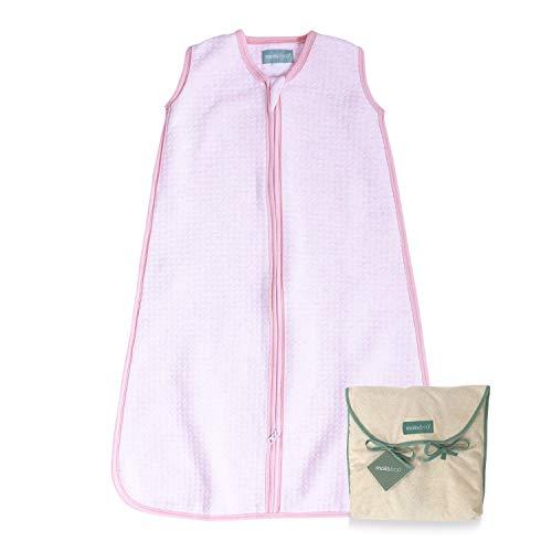 molis&co. Saco de Dormir para bebé. Ideal para Entretiempo. 1.0 TOG. Candy - Rosa. 18 a 36 meses....