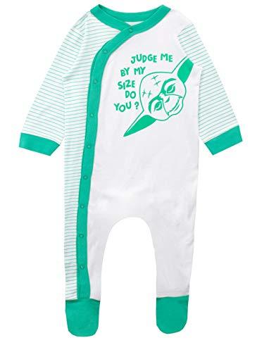 Star Wars Pijama Entera para Niños Bebés Yoda Multicolor 9-12 Meses