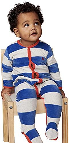 Petit Bateau A025X Camisn, Major/Montelimar, 6 Mes (Pack de 2) para Bebés