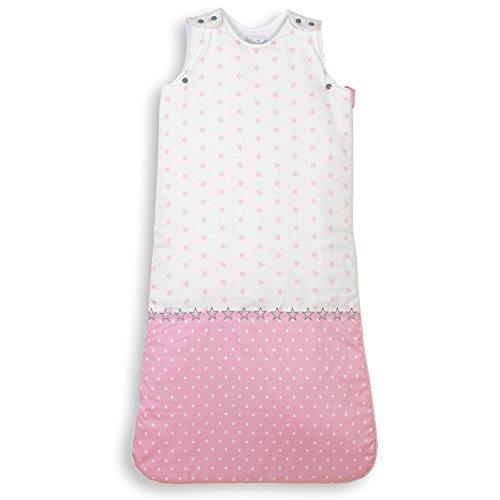 NioviLu Design Saco de dormir para bebé - Plein D' Étoiles (18-36 meses / 105 cm - 2.5 Tog)