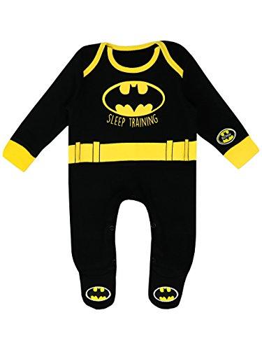 Batman Pijama Entero para Niños Bebés DC Comics - 0-3 Meses