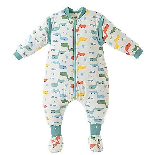 Happy Cherry Bebé Unisex - Saco de dormir para bebé (algodón, suave, cálido, mango extraíble),...