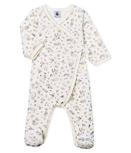 Petit Bateau Dors Bien Y_5101701 Pijama, Multicolor (Marshmallow/Multico 01), 86 (Talla del...
