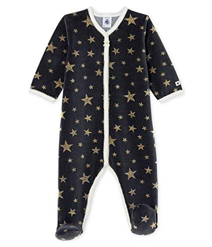 Petit Bateau Dors Bien Y_5254101 Pijama, Multicolor (Capecod/or 01), 92 (Talla del Fabricante:...