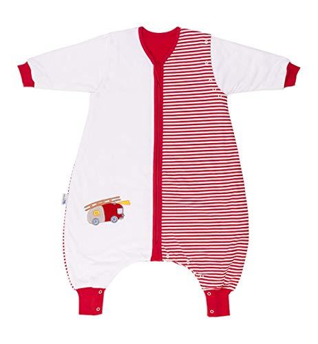 Saco de dormir Slumbersac estándar para bebé con pies y manga larga desmontable 2.5 Tog - coche de...