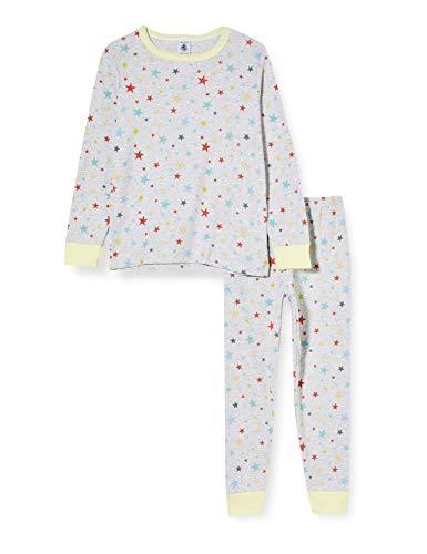 Petit Bateau 5909001 Pijama, Poussiere/Multico, 3 años para Niñas