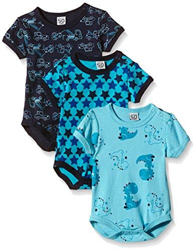 Care Body Bebé-Niños pack de 3 o pack de 6 Azul (Dark Navy 778) 24 meses (Talla del fabricante:...