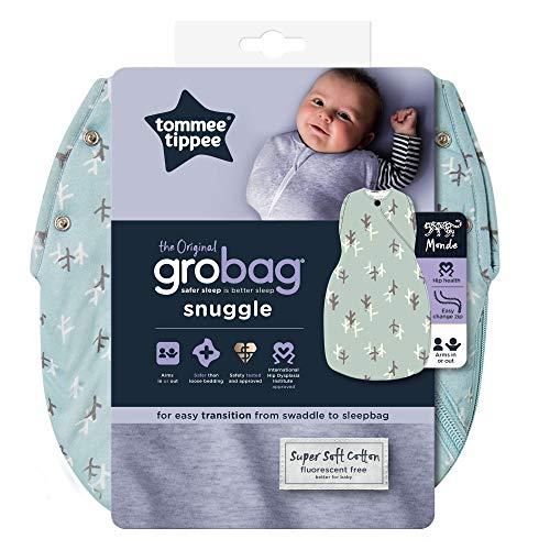 Tommee Tippee Saco de Dormir para bebé, The Original Grobag, Tela Suave Rica en bambú, guata...