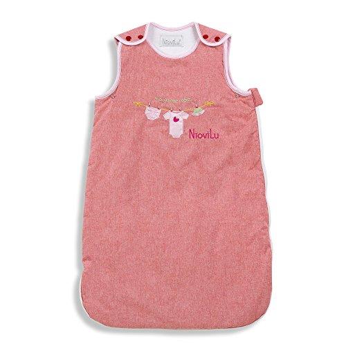 NioviLu Saco de dormir para bebé - Ma garde robe (18-36 meses / 105 cm - 2.5 Tog)