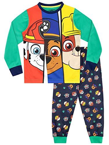 Paw Patrol Pijamas de Manga Larga para niños La Patrulla Canina Multicolor 12-18 MESI