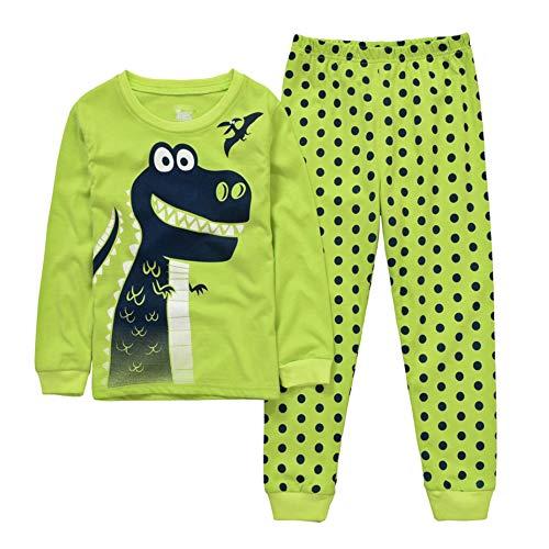 Pijama de dinosaurio o coche para niños, juegos de pijama para bebé, pijamas, camisetas y...