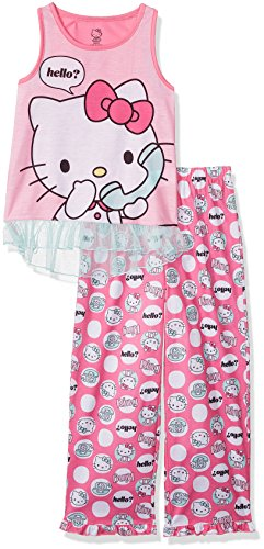 Hello Kitty Conjunto de 2 piezas de ropa de dormir para niñas - rosa - Small