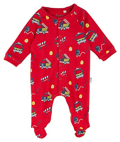 Sigikid Overall Pelele para Dormir, Jung/Bomberos, 2 Mes para Bebés