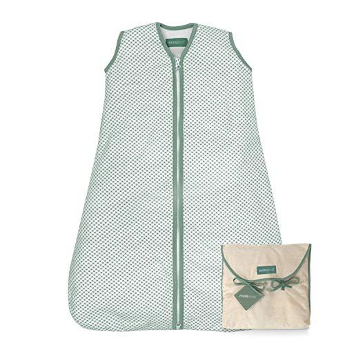 molis&co. Saco de Dormir para bebé. 1.0 TOG. 18 a 36 Meses. Ideal para Primavera y otoño. Vichy...