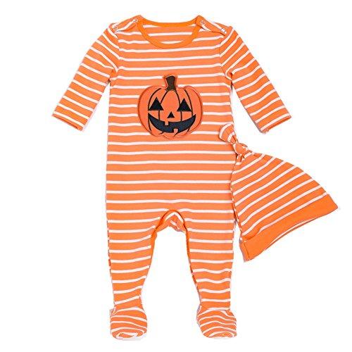Bom Bom Halloween Pijama para Bebe Ninos Ninas Pelele Manga Larga(color1,0-3m)