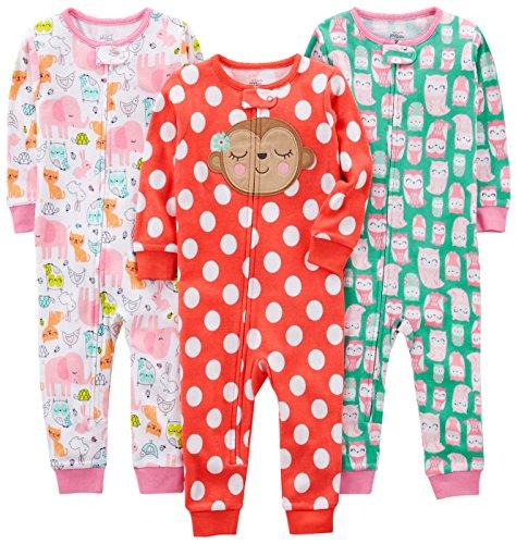 Simple Joys by Carter's - Pijamas enteros - para bebé niña
