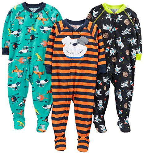 Simple Joys by Carter's Pajama-Sets, (Space/Dog/Vehicles), 5T