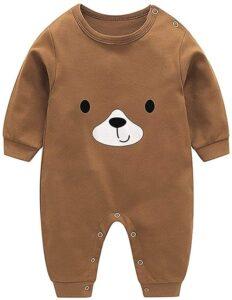 Pijamas bebé Marrón
